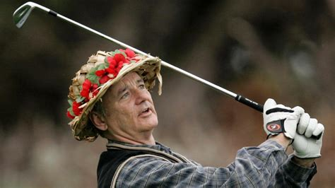 bill murray unveils golf apparel collection promo