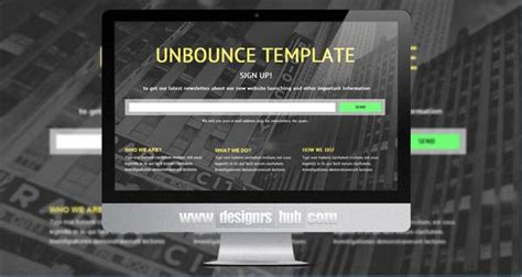 unbounce templates 15 award winning unbounce landing page templates