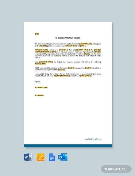 FREE Simple And Short Resignation Letter Template - Word ...