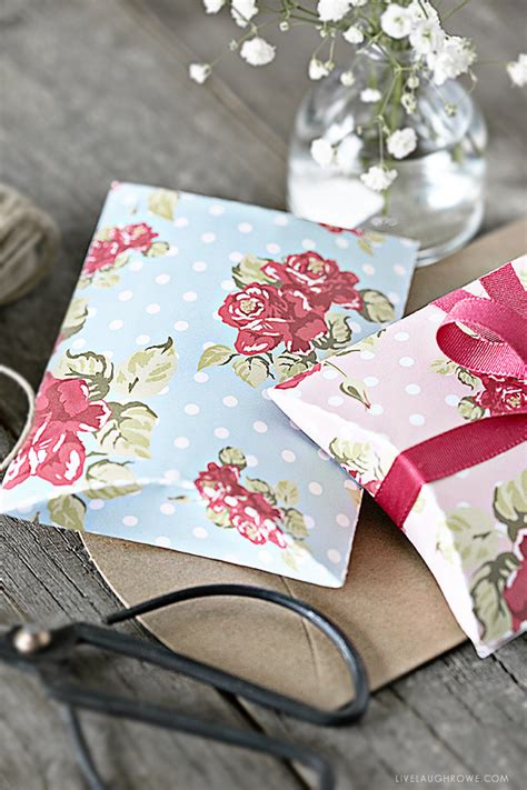 shabby chic pillow box template  printable