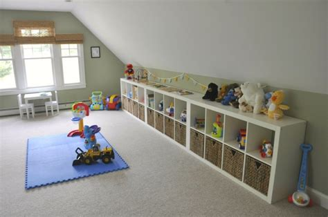 jeux de rangement de chambre de fille rangement salle de jeux enfant 50 idées astucieuses