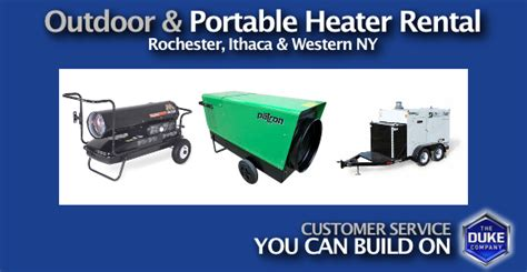 outdoor portable heater rental in rochester ny ithaca
