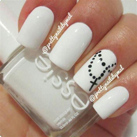white nail designs 80 black and white nail designs