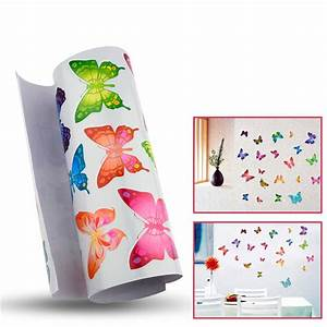 free shipping 21 Individual Butterfly 3d Wall Stickers for ...