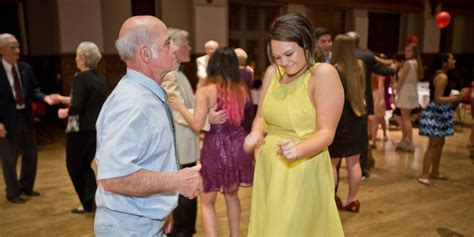 Senior Citizens Show They Can Still Cut A Rug At College