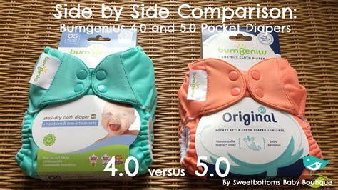 Bumgenius 4.0 Versus 5.0 Cloth Diapers