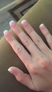 Nail Designs Dip Powder French Dip Powder Overlay Gel French Manicure