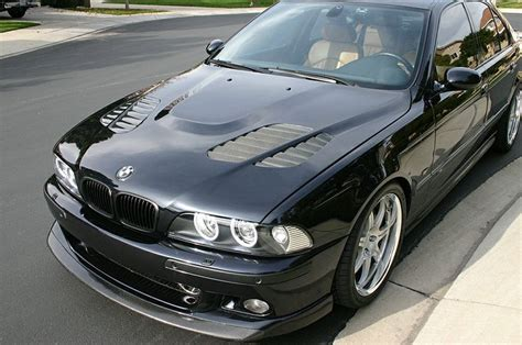 Bmw E39 M5 Beautiful Sleek Black With The Coveted Vented