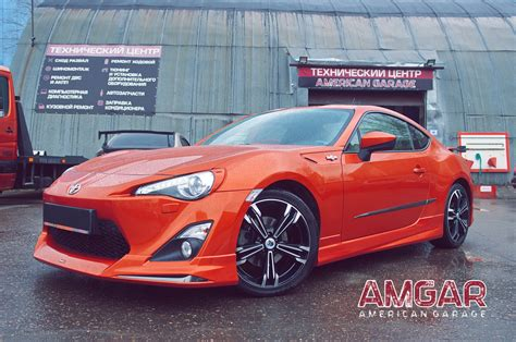 Toyota Gt86 Hp by тормоза Hp Brakes на Toyota Gt86 Subaru Brz тормозные