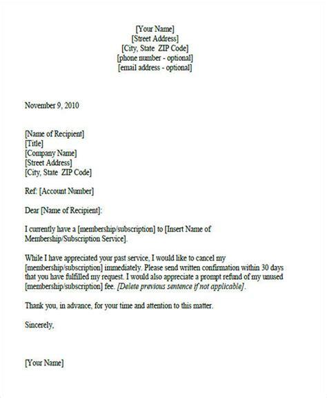 service letter formats