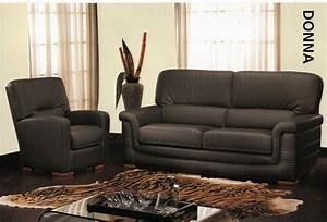 Fauteuil Et Canapé : achat canap et fauteuil donna pas cher meublespace ~ Teatrodelosmanantiales.com Idées de Décoration
