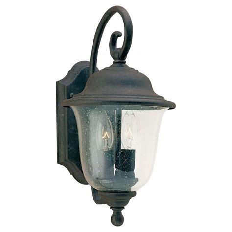 sea gull lighting trafalgar 2 light oxidized bronze
