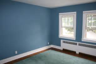 Blue Accent Wall Living Room Paint Colors