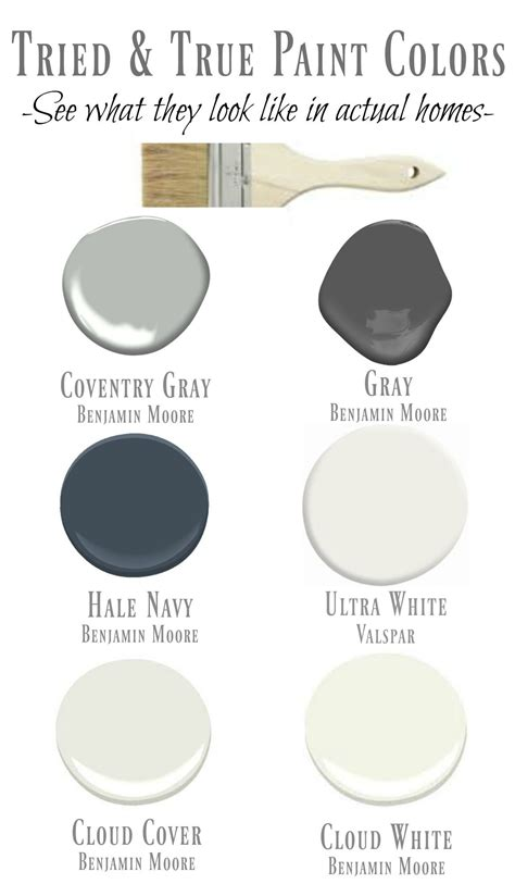 friday favorites starts with my tried true paint colors