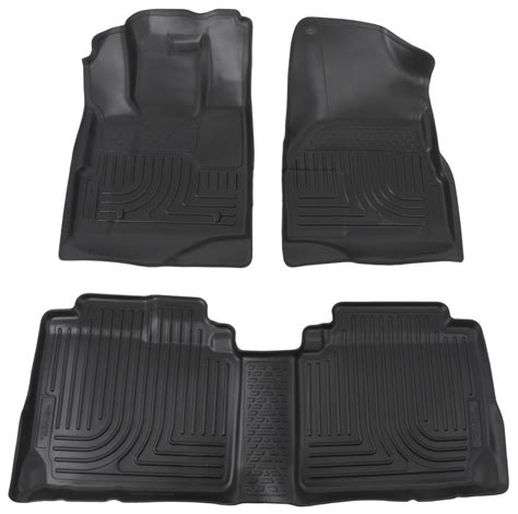 floor mats equinox floor mats by husky liners for 2013 equinox hl98131