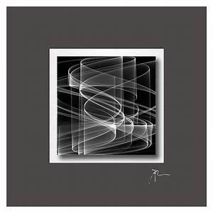 Alu Dibond Oder Acrylglas : acrylglasbild graphic waves black 50 x 50 cm acrylglas auf alu dibond bauhaus ~ Orissabook.com Haus und Dekorationen