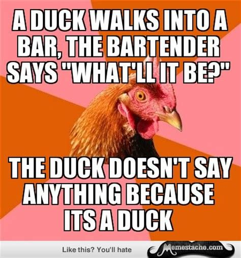 Funny Bartender Memes - 17 best images about stupid chicken jokes on pinterest jokes a chicken and haha