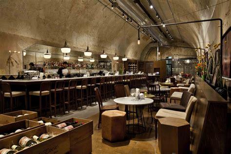 Wine Bar Design by 187 Jajo Wine Bar Restaurant By Dan Troim Tel Aviv Israel