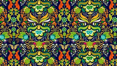 Pattern Ornament Tangled Bright 4k Uhd Wallpapers