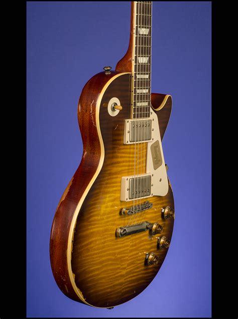 joe perry 59 les paul standard aged by tom murphy guitars