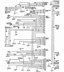 1985 Chevrolet El Camino Wiring Diagram Part 1  61810