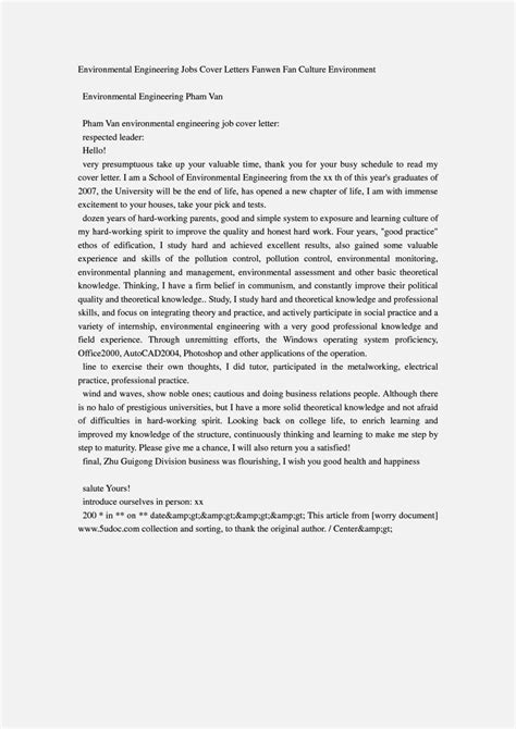 cover letter for science position environmental scientist cover letter exle resume template cover letter