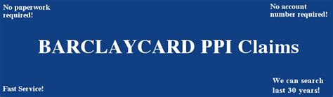 We did not find results for: Barclaycard PPI Claim free PPI checkup & no paperwork required. PPI Claims & Rejected PPI Claims ...