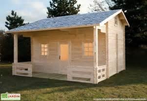 bungalow chalet bois meg 232 ve 600x590x378 44 mm chal 234 t