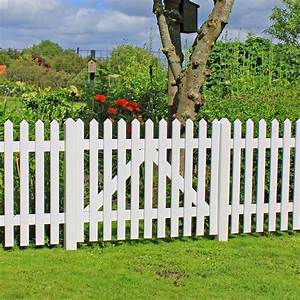 Gartenzaun Weiß Holz : gartenzaun holz skagen wei 80cm ~ Michelbontemps.com Haus und Dekorationen