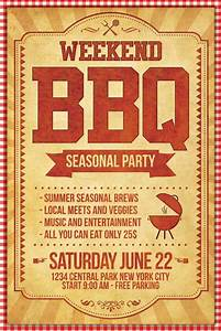 Bbq flyer template psd xtremeflyers for Barbeque flyer template