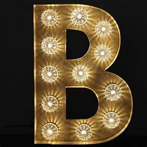 vintage b letter light marquee style light up letter quotbquot With vintage letter lights