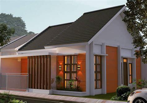desain rumah minimalis modern tampak belakang jual bata
