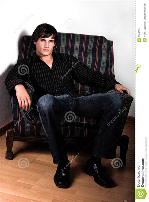 hunk  chair royalty  stock photo image