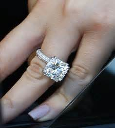 s wedding ring what u see is what u get in with khloe 39 s engagement ring