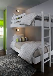 floating bunk beds contemporary boy s room summer