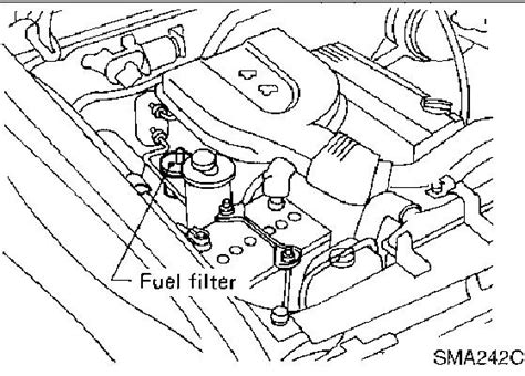 2003 Altima Fuel Filter Location by My Nissan Hardbody Is Bogin On Take I Change All Plugs