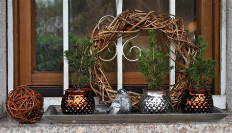 Weihnachtsdeko Auf Fensterbank by Gartendeko Weihnachtsdeko Vom Blumenversand