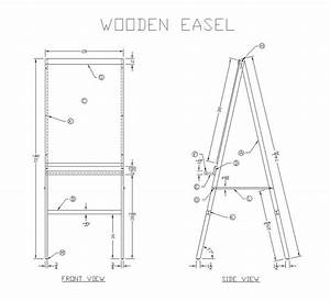 Wood Easel Plans Pdf PDF Woodworking