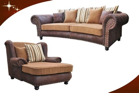 big sofa mit sessel big sofa hawana kolonialstil inkl big sessel und hocker kopie os livingcomfort