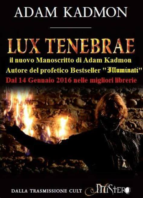 Adam Kadmon Illuminati Libro by Adam Kadmon Il Ufficiale
