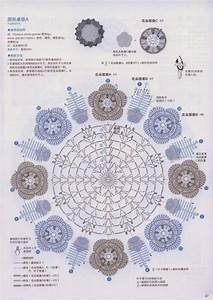 Ergahandmade  Crochet Doilies With Flowers   Diagrams