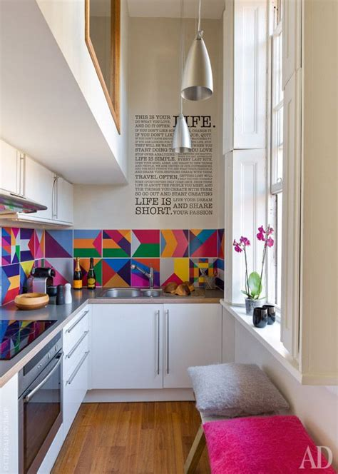 colorful kitchen designs   cheer   home