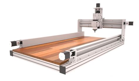 idcnc router plans  dual motor  ball screw   axis     kit plans