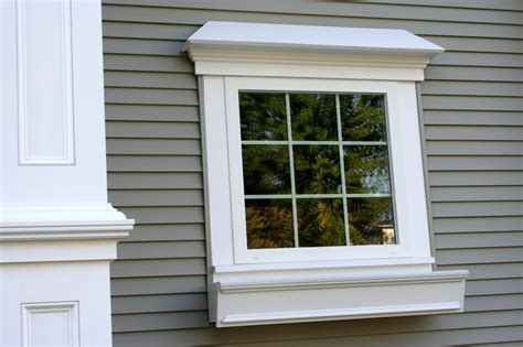 Exterior Window Sill Design by Exterior House Windows Design Outside Window Trim Molding