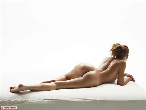 Slender Naked Model Katia All Oiled Up In Studio Nudes By Hegre Art 16 Photos Erotic Beauties