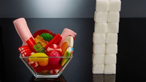 antena  tv  fotografo muestra el contenido de azucar
