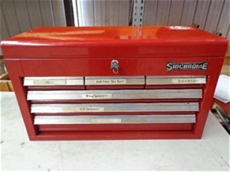 sidchrome tool box chest auction 0059 3005102