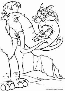 Images of Ice Age Characters Coloring Pages - #golfclub