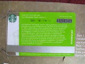Starbucks Gift Card Security Code