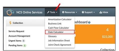 ncs services tip date calculator ncs credit